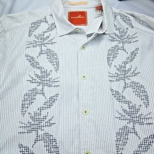 Tommy Bahama Ocean Wash Beach Shirt Size Large
